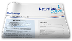 Natural Gas Outlook Newsletter Subscribe